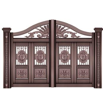 沈阳庭院铜门